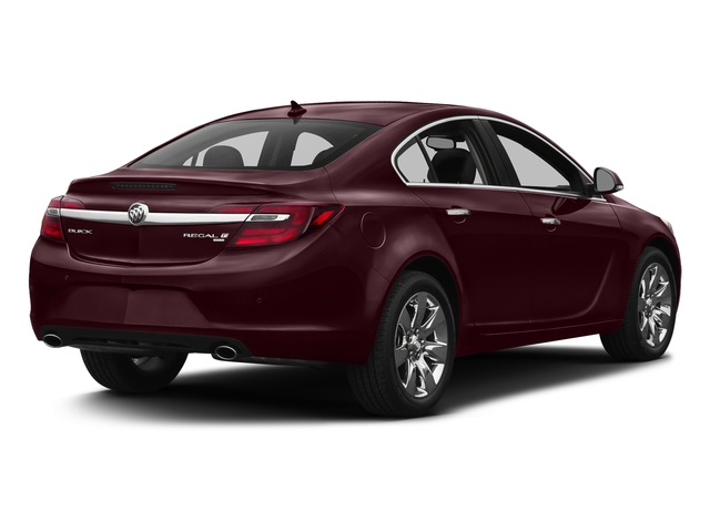 Black Cherry Metallic 2017 Buick Regal Pictures Regal 4dr Sdn Sport Touring FWD photos rear view