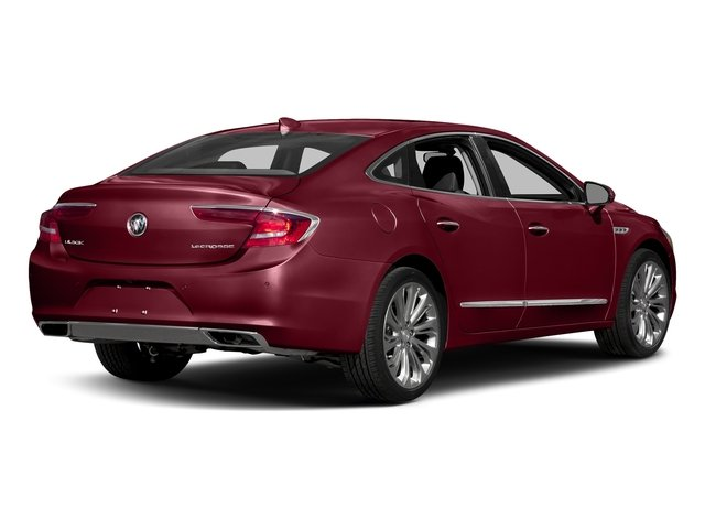 Crimson Red Tintcoat 2017 Buick LaCrosse Pictures LaCrosse 4dr Sdn Preferred FWD photos rear view