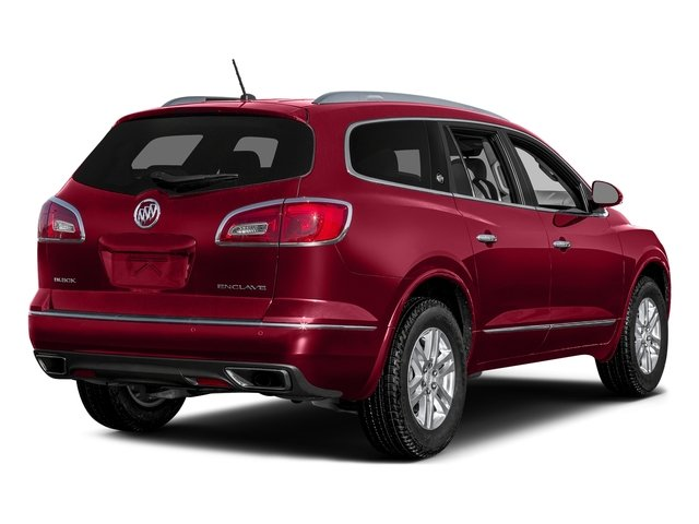 Crimson Red Tintcoat 2017 Buick Enclave Pictures Enclave Utility 4D Premium 2WD V6 photos rear view