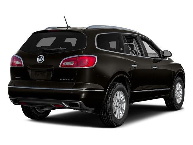 Dark Chocolate Metallic 2017 Buick Enclave Pictures Enclave Utility 4D Premium 2WD V6 photos rear view