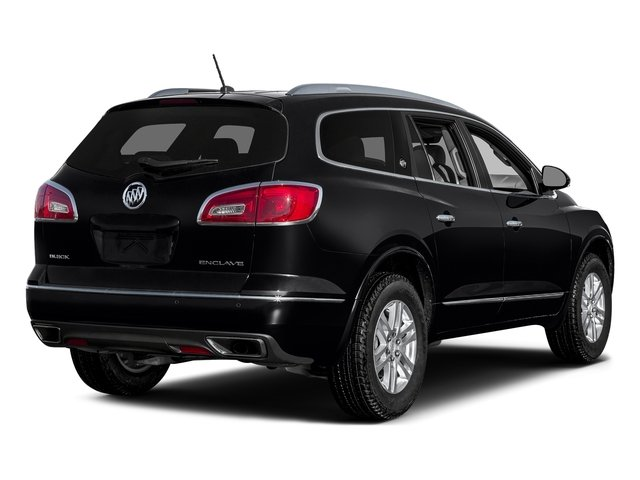 Ebony Twilight Metallic 2017 Buick Enclave Pictures Enclave Utility 4D Premium 2WD V6 photos rear view