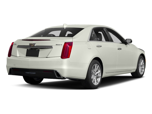 Crystal White Tricoat 2017 Cadillac CTS Sedan Pictures CTS Sedan 4D AWD I4 Turbo photos rear view