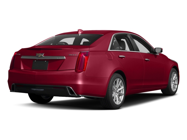 Red Obsession Tintcoat 2017 Cadillac CTS Sedan Pictures CTS Sedan 4D AWD I4 Turbo photos rear view