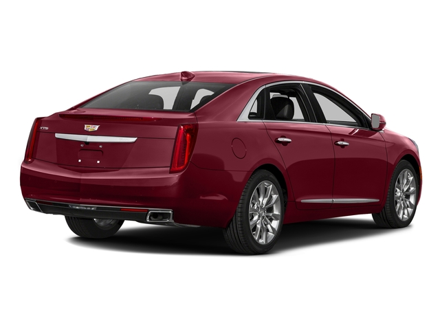Red Passion Tintcoat 2017 Cadillac XTS Pictures XTS Sedan 4D Luxury AWD V6 photos rear view