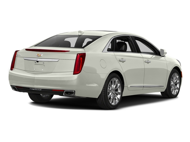 Crystal White Tricoat 2017 Cadillac XTS Pictures XTS Sedan 4D Luxury AWD V6 photos rear view