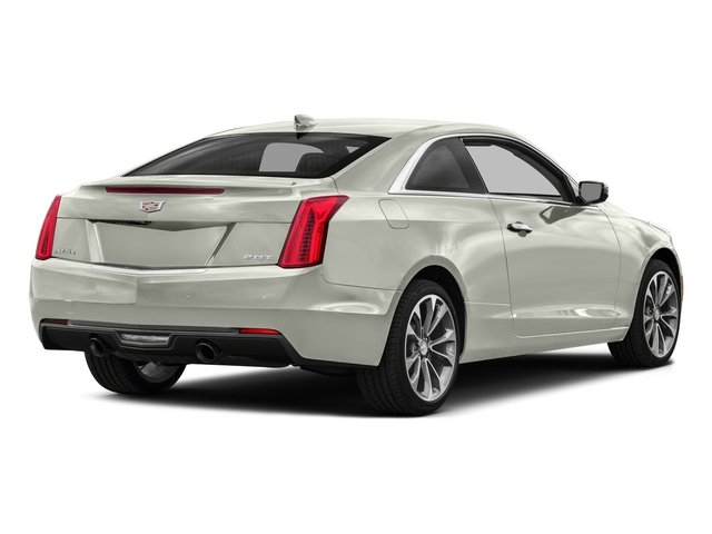 Crystal White Tricoat 2017 Cadillac ATS Coupe Pictures ATS Coupe 2D Premium Performance V6 photos rear view
