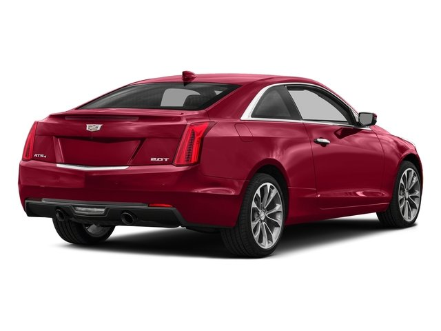 Red Obsession Tintcoat 2017 Cadillac ATS Coupe Pictures ATS Coupe 2D Premium Performance V6 photos rear view