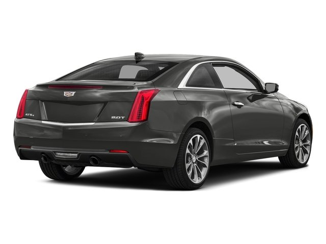 Moonstone Metallic 2017 Cadillac ATS Coupe Pictures ATS Coupe 2D Premium Performance V6 photos rear view