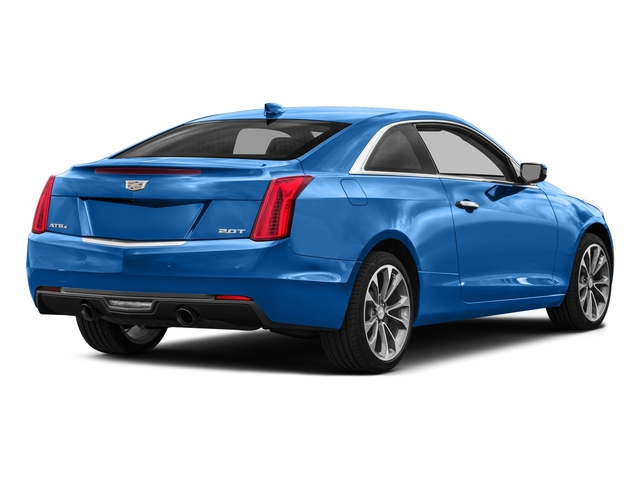 Silver Moonlight Metallic 2017 Cadillac ATS Coupe Pictures ATS Coupe 2D Premium Performance V6 photos rear view