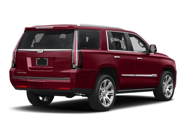 Red Passion Tintcoat 2017 Cadillac Escalade Pictures Escalade Utility 4D Premium Luxury 2WD V8 photos rear view