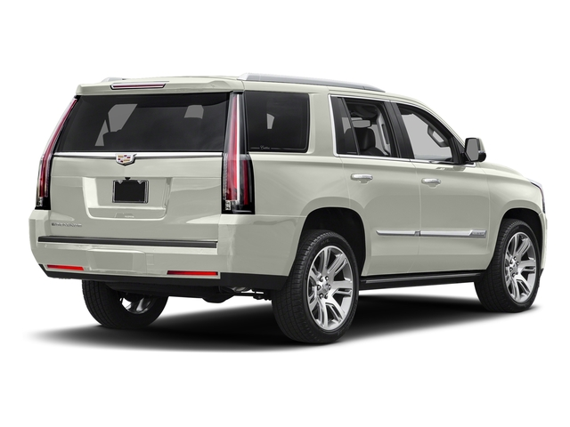 Crystal White Tricoat 2017 Cadillac Escalade Pictures Escalade Utility 4D Premium Luxury 2WD V8 photos rear view