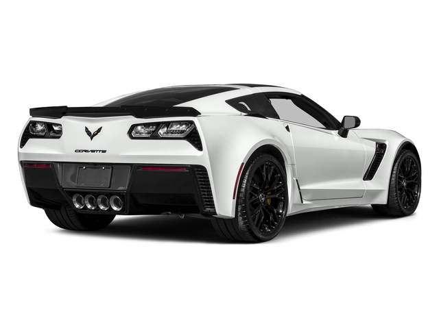 Arctic White 2017 Chevrolet Corvette Pictures Corvette 2dr Z06 Cpe w/1LZ photos rear view