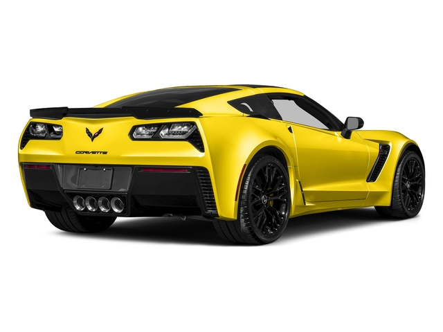 Corvette Racing Yellow Tintcoat 2017 Chevrolet Corvette Pictures Corvette 2dr Z06 Cpe w/1LZ photos rear view