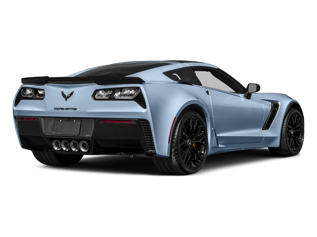 Sterling Blue Metallic 2017 Chevrolet Corvette Pictures Corvette 2dr Z06 Cpe w/1LZ photos rear view