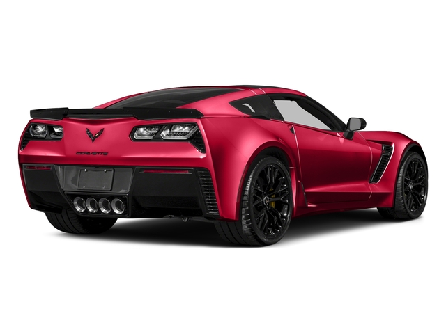 Torch Red 2017 Chevrolet Corvette Pictures Corvette 2dr Z06 Cpe w/1LZ photos rear view