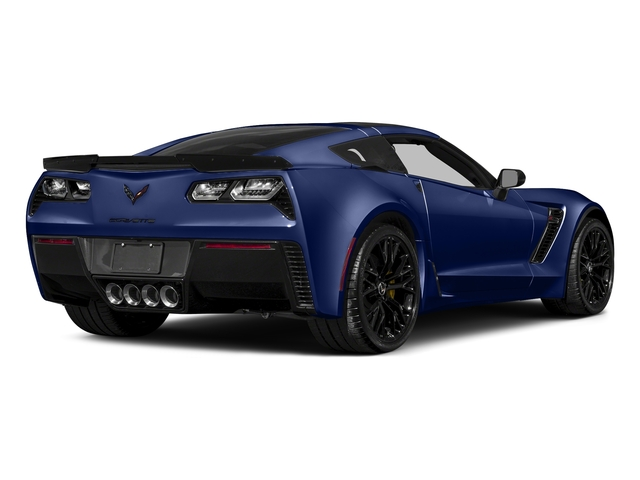 Admiral Blue Metallic 2017 Chevrolet Corvette Pictures Corvette 2dr Z06 Cpe w/1LZ photos rear view
