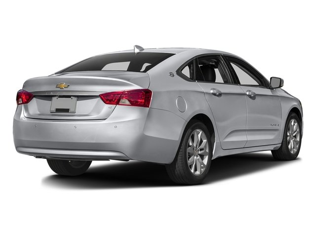 Silver Ice Metallic 2017 Chevrolet Impala Pictures Impala 4dr Sdn LS w/2FL *Ltd Avail* photos rear view
