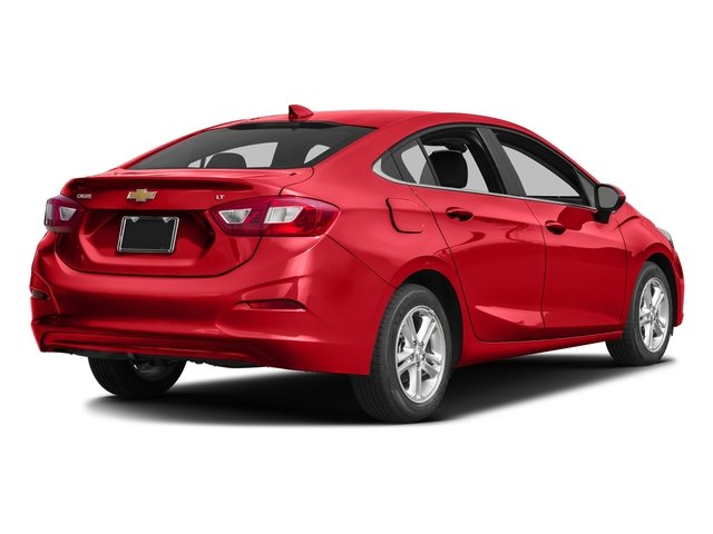Red Hot 2017 Chevrolet Cruze Pictures Cruze 4dr Sdn 1.6L LT w/1SH photos rear view