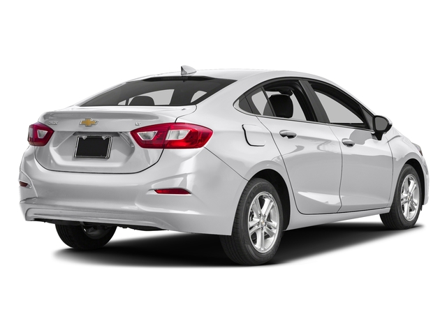 Silver Ice Metallic 2017 Chevrolet Cruze Pictures Cruze 4dr Sdn 1.6L LT w/1SH photos rear view