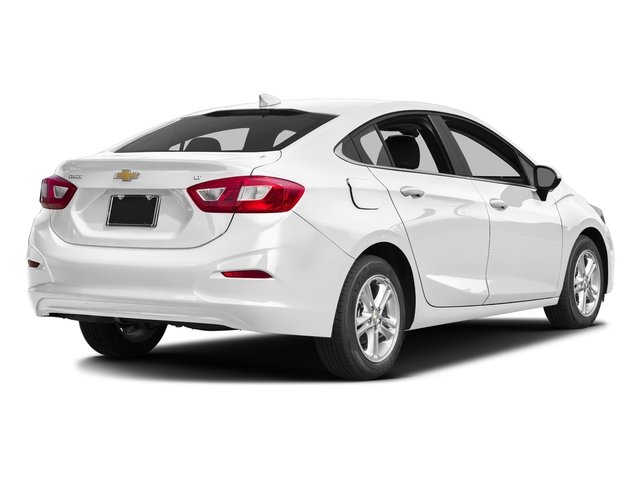 Summit White 2017 Chevrolet Cruze Pictures Cruze 4dr Sdn 1.6L LT w/1SH photos rear view