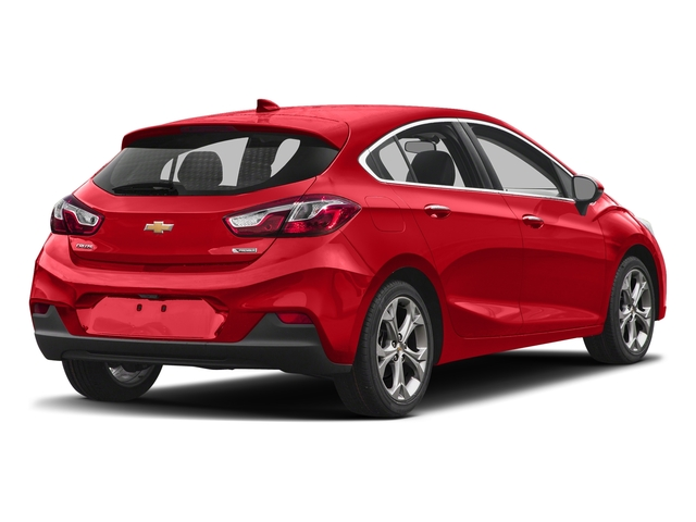 Red Hot 2017 Chevrolet Cruze Pictures Cruze 4dr HB 1.4L Premier w/1SF photos rear view