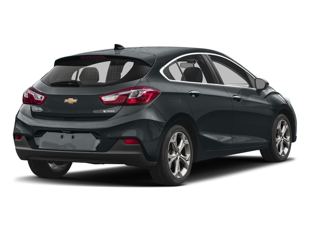 Nightfall Gray Metallic 2017 Chevrolet Cruze Pictures Cruze 4dr HB 1.4L Premier w/1SF photos rear view