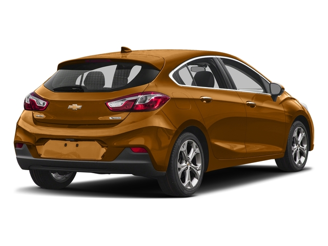 Orange Burst Metallic 2017 Chevrolet Cruze Pictures Cruze 4dr HB 1.4L Premier w/1SF photos rear view