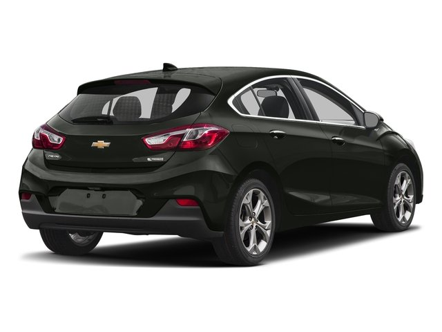 Graphite Metallic 2017 Chevrolet Cruze Pictures Cruze 4dr HB 1.4L Premier w/1SF photos rear view