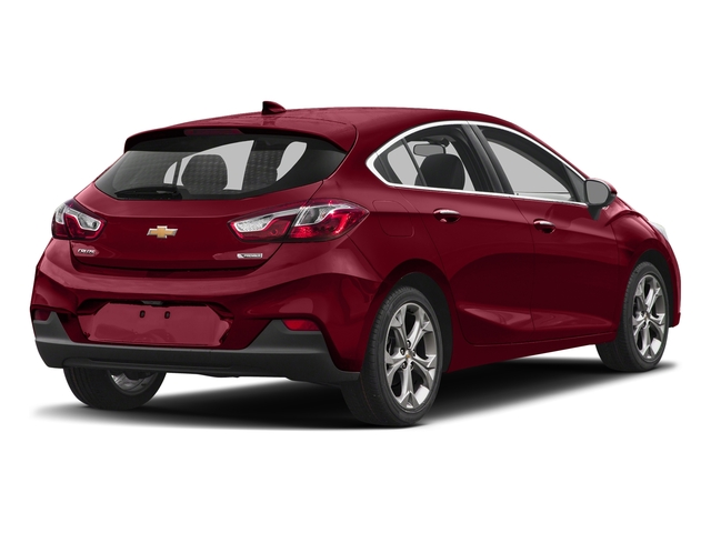 Cajun Red Tintcoat 2017 Chevrolet Cruze Pictures Cruze 4dr HB 1.4L Premier w/1SF photos rear view