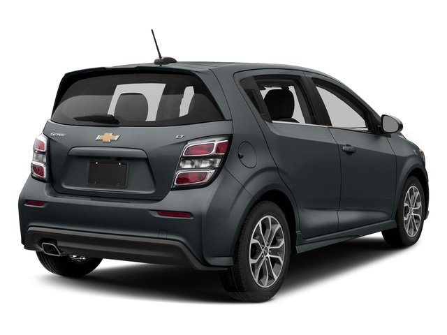 Nightfall Gray Metallic 2017 Chevrolet Sonic Pictures Sonic 5dr HB Auto LT w/1SD photos rear view
