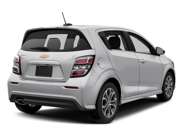 Silver Ice Metallic 2017 Chevrolet Sonic Pictures Sonic 5dr HB Auto LT w/1SD photos rear view