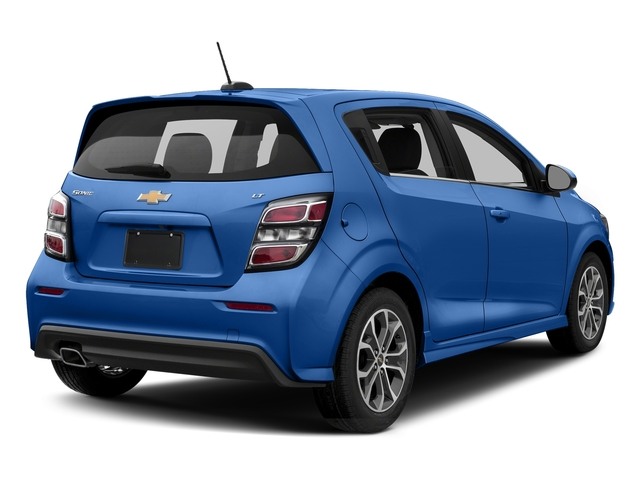 Kinetic Blue Metallic 2017 Chevrolet Sonic Pictures Sonic 5dr HB Auto LT w/1SD photos rear view