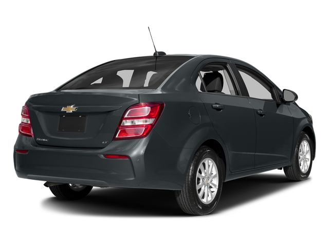 Nightfall Gray Metallic 2017 Chevrolet Sonic Pictures Sonic 4dr Sdn Auto Premier photos rear view