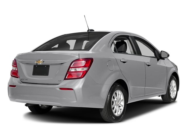 Silver Ice Metallic 2017 Chevrolet Sonic Pictures Sonic 4dr Sdn Auto Premier photos rear view