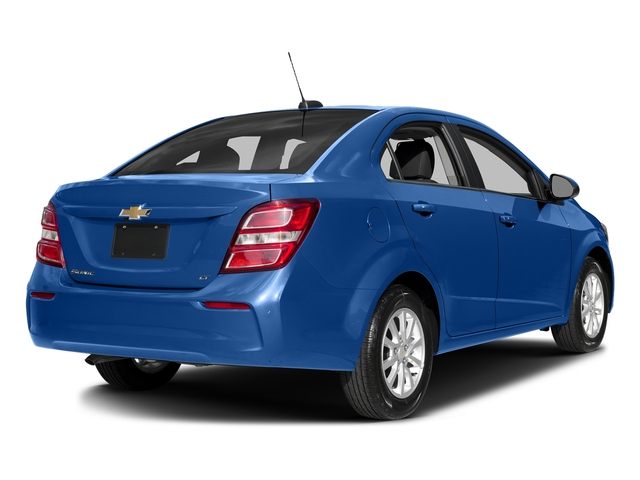 Kinetic Blue Metallic 2017 Chevrolet Sonic Pictures Sonic 4dr Sdn Auto Premier photos rear view