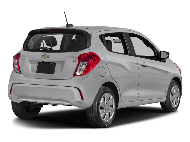 Silver Ice 2017 Chevrolet Spark Pictures Spark 5dr HB Man LS photos rear view