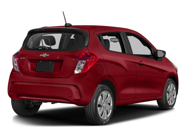 Red Hot 2017 Chevrolet Spark Pictures Spark 5dr HB Man LS photos rear view