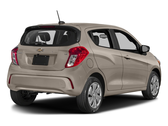 Toasted Marshmallow 2017 Chevrolet Spark Pictures Spark 5dr HB Man LS photos rear view