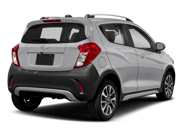 Silver Ice 2017 Chevrolet Spark Pictures Spark 5dr HB Man ACTIV photos rear view