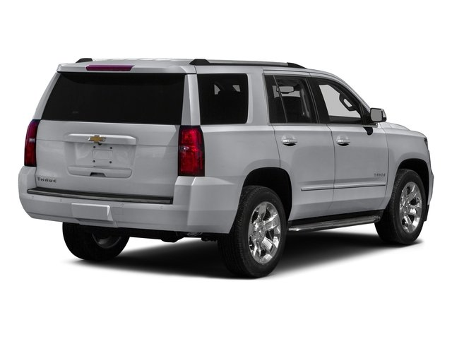 Silver Ice Metallic 2017 Chevrolet Tahoe Pictures Tahoe 4WD 4dr Premier photos rear view