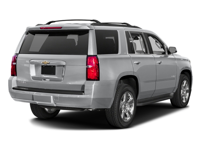 Silver Ice Metallic 2017 Chevrolet Tahoe Pictures Tahoe 2WD 4dr LS photos rear view