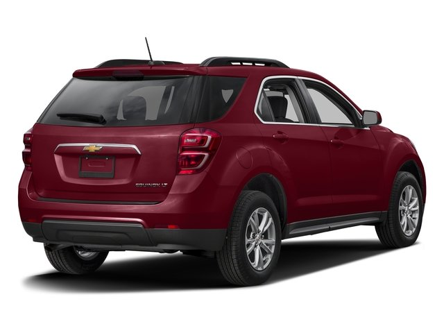 Siren Red Tintcoat 2017 Chevrolet Equinox Pictures Equinox FWD 4dr LT w/1LT photos rear view
