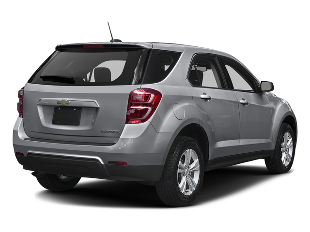 Silver Ice Metallic 2017 Chevrolet Equinox Pictures Equinox FWD 4dr L photos rear view