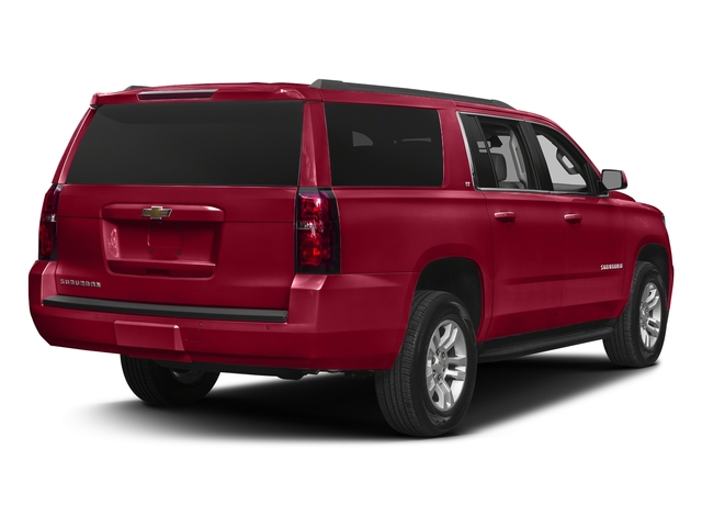 Siren Red Tintcoat 2017 Chevrolet Suburban Pictures Suburban 2WD 4dr 1500 LT photos rear view