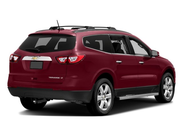 Siren Red Tintcoat 2017 Chevrolet Traverse Pictures Traverse AWD 4dr LT w/1LT photos rear view