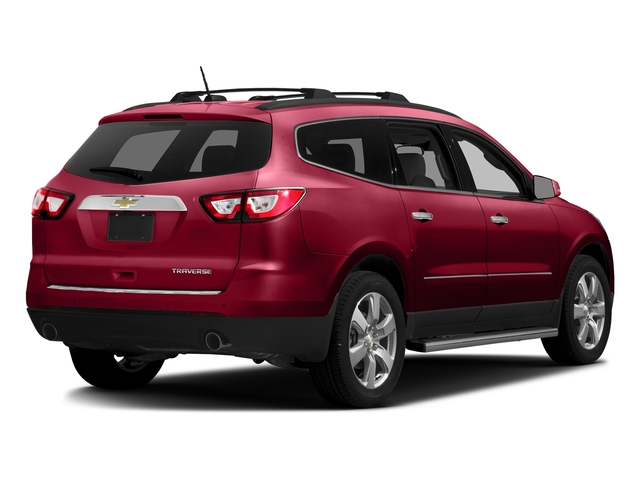 Siren Red Tintcoat 2017 Chevrolet Traverse Pictures Traverse AWD 4dr Premier photos rear view