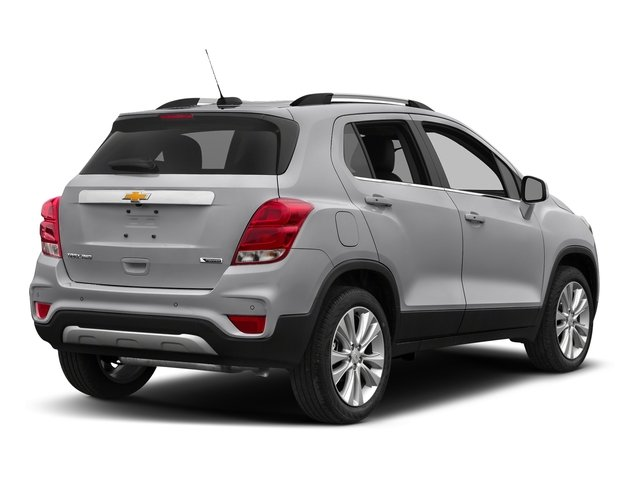 Silver Ice Metallic 2017 Chevrolet Trax Pictures Trax AWD 4dr Premier photos rear view
