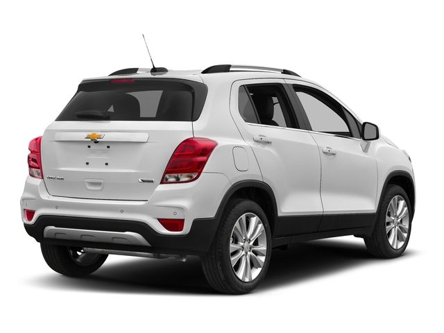 Summit White 2017 Chevrolet Trax Pictures Trax AWD 4dr Premier photos rear view