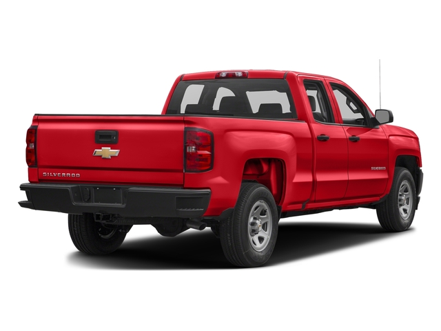 Red Hot 2017 Chevrolet Silverado 1500 Pictures Silverado 1500 2WD Double Cab 143.5 Work Truck photos rear view