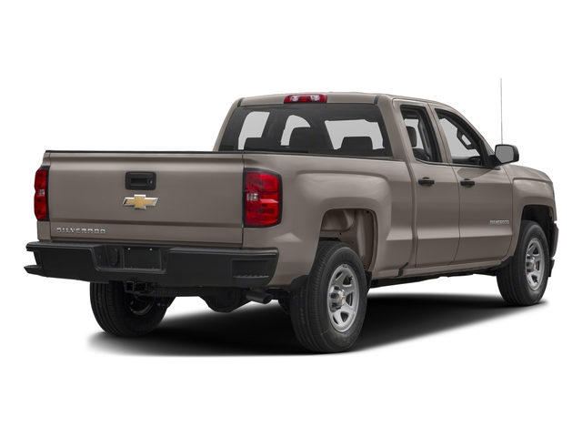 Pepperdust Metallic 2017 Chevrolet Silverado 1500 Pictures Silverado 1500 2WD Double Cab 143.5 Work Truck photos rear view